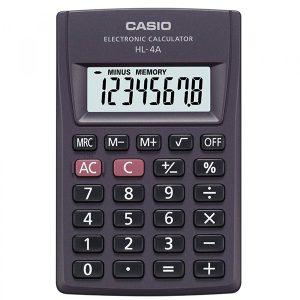 ماشین حساب جیبی کاسیو مدل HL- 4A