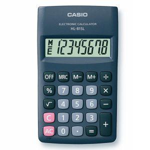 ماشین حساب جیبی کاسیو مدل HL-815L