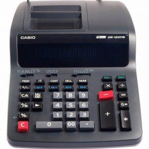 ماشین حساب کاسیو DR-120 TM
