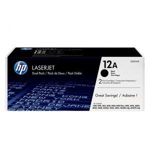 کارتریج اچ پی HP12A.فروشگاه اینترنتی بهین دیجیتال